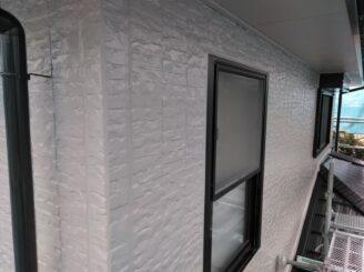 外壁の施工後